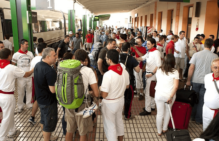 Pamplona train Station