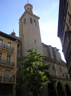 The church of Saint Saturnino