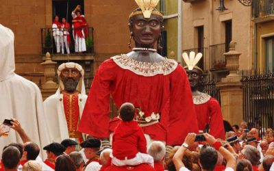 Pamplona with children