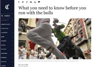 What you need to know before you run with the bulls