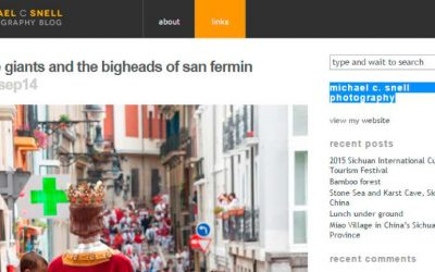 The perfect San Fermin picture is not an easy thing to take.