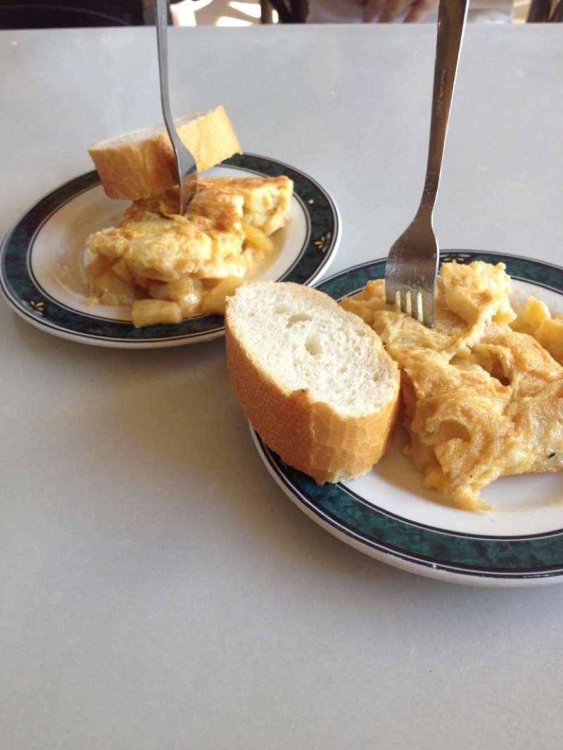 The best tortilla in Pamplona ¨La Navarra¨