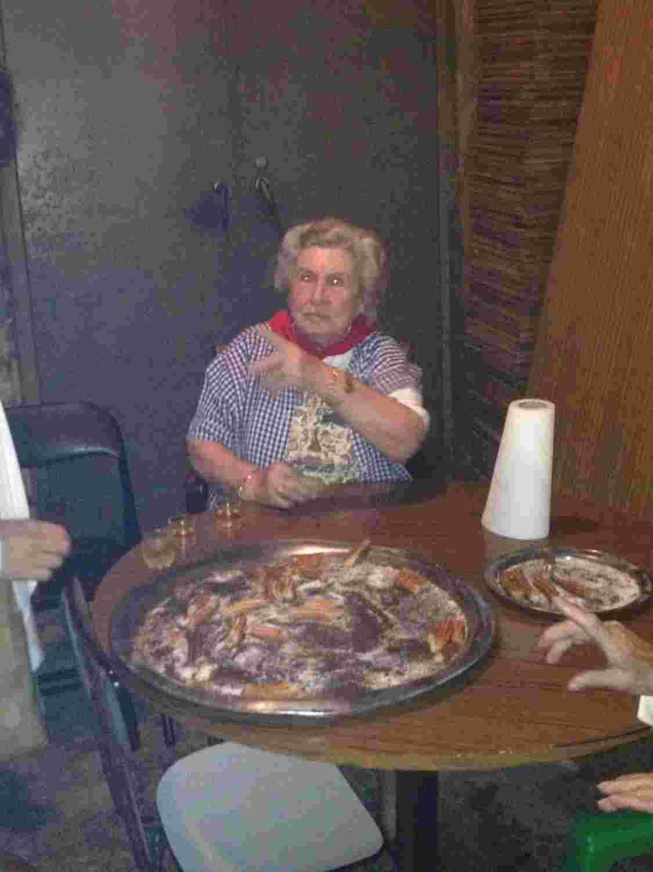 the grandma of churros
